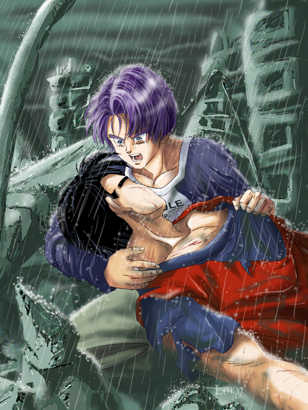 Please dont die I love you Gohan-san-Gohan x Trunks-Lory-ibDBZ Reloaded-b The Yaoi Saga -i-Pic133