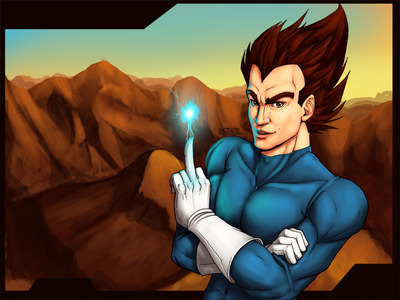Vegeta Marvel style-Pin ups-Pinkuh-ibDBZ Reloaded-b The Yaoi Saga -i-Thumb47