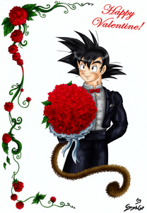 Goku needs a Valentine-Pin ups-xGogetaCatx-ibDBZ Reloaded-b The Yaoi Saga -i-Thumb74