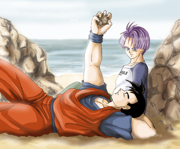 History of Trunks  First Love Crush-Gohan x Trunks-Lory-ibDBZ Reloaded-b The Yaoi Saga -i-Thumb83