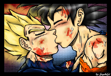 Hate  Love-Vegeta x Goku-xGogetaCatx-ibDBZ Reloaded-b The Yaoi Saga -i-Thumb95